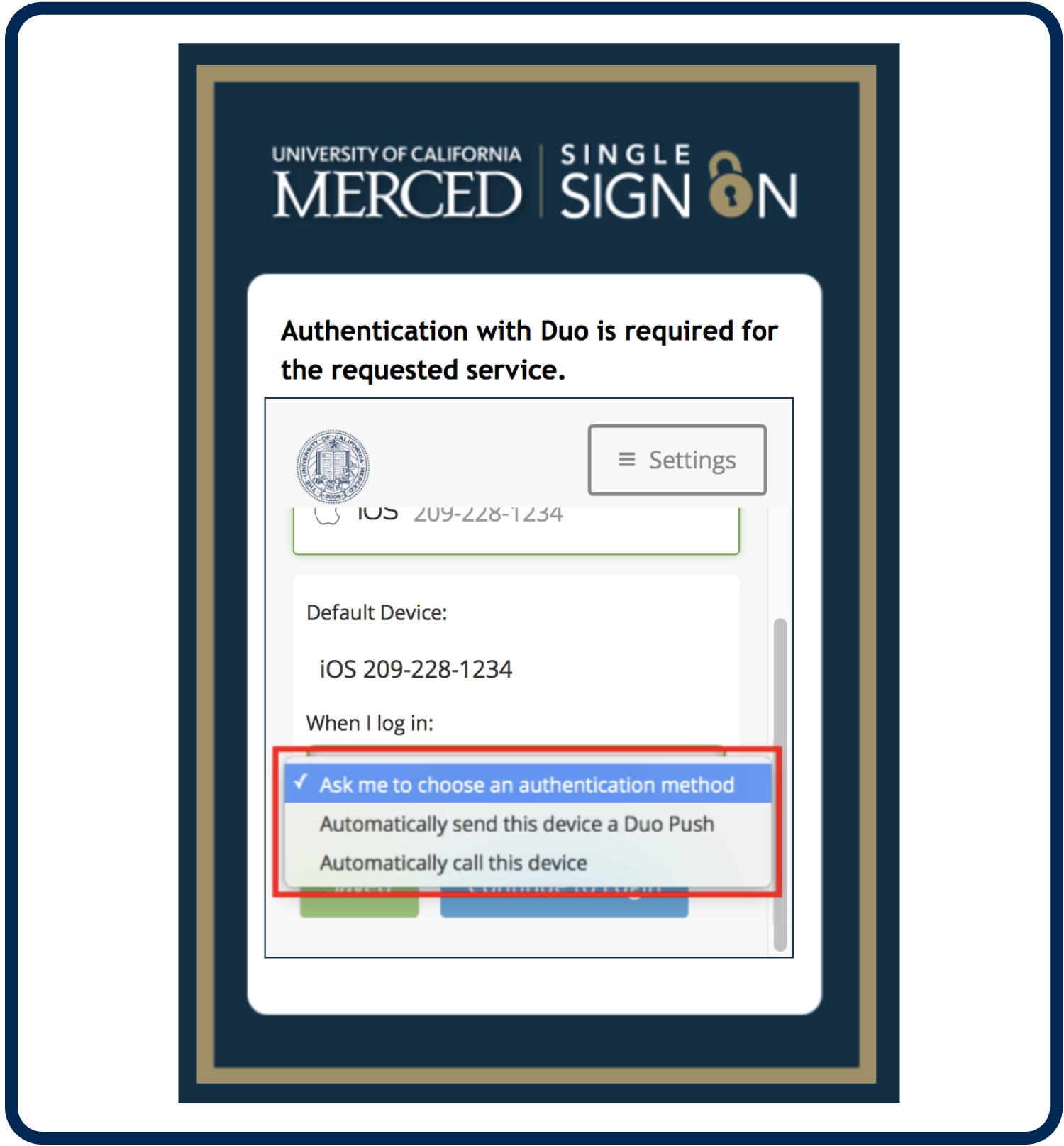 2-Factor Authentication Enrollment Guide: Mobile Phone | Office of