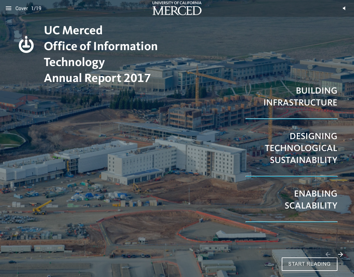 UC Merced OIT Annual Report for 2017