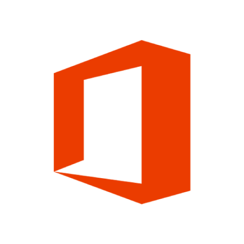 Red Microsoft Office 365 logo