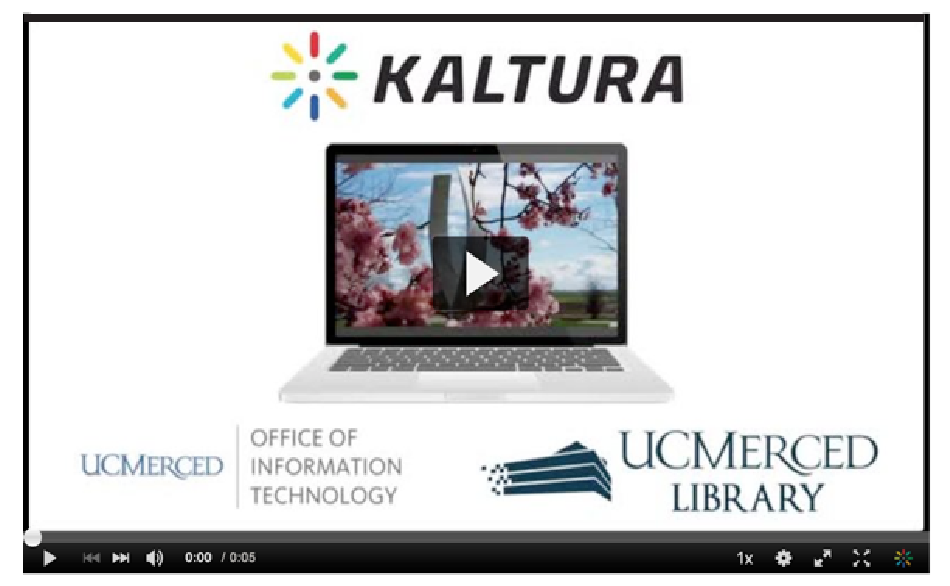 Screenshot of video from Kaltura Video Streaming Service